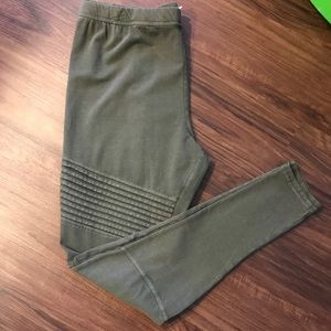 b9f3e4d1d21 bp Pants - BP PLUS SIZE Moto Legging in Green NWT